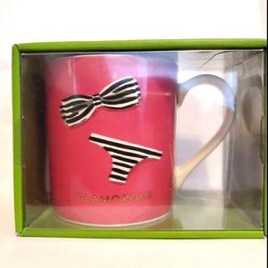 NIB KATE SPADE Glamorous Mug by Lenox